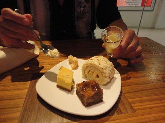 Aquarius: Just SOME of the desserts!