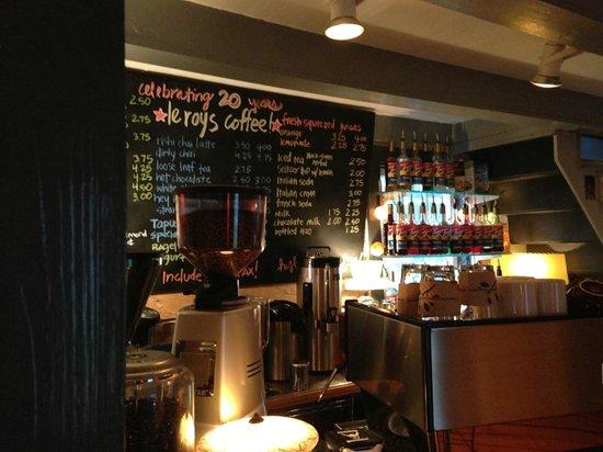 Leroy's Water Street Coffee: Leroy's