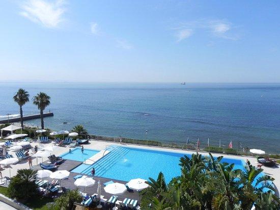 Hotel Cascais Miragem : Vista da varanda do hotel