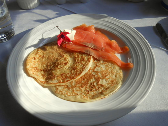 Mallmore Country House: pancake special breakfast, very nice