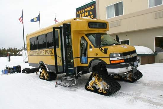 Gray Wolf Inn and Suites: Snow Coach