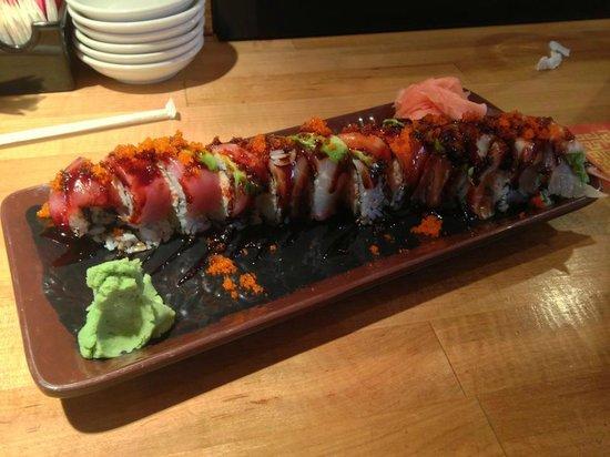 Bonsai: Awesome Rainbow roll.