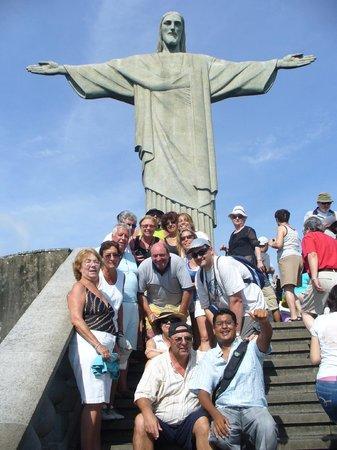 Corcovado Christ the Redeemer: grupo CRUCERO Buenos Aires-Rio