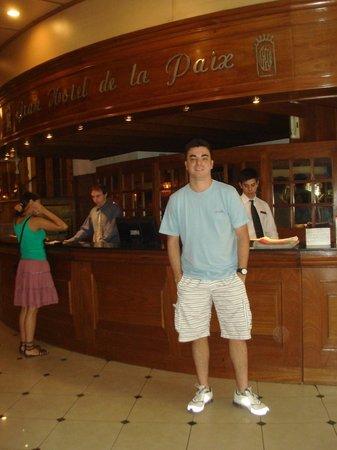 Gran Hotel de la Paix: saguão do hotel