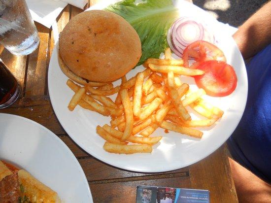 Taste of Rome: Lamb Burger -Delicious!
