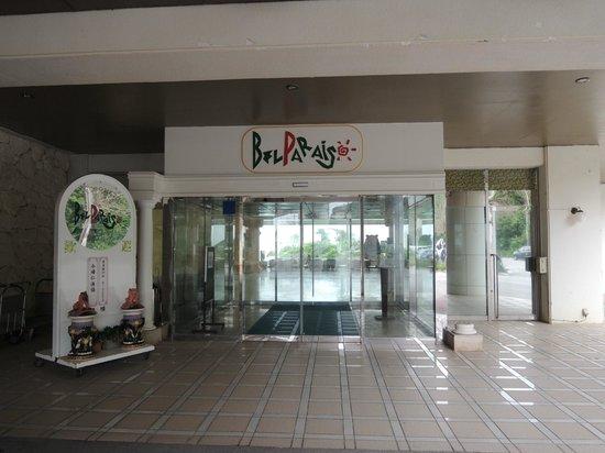 Resort Hotel Bel Paraiso: ホテル入口