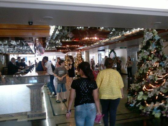 Rafain Palace Hotel & Convention: hall de entrada
