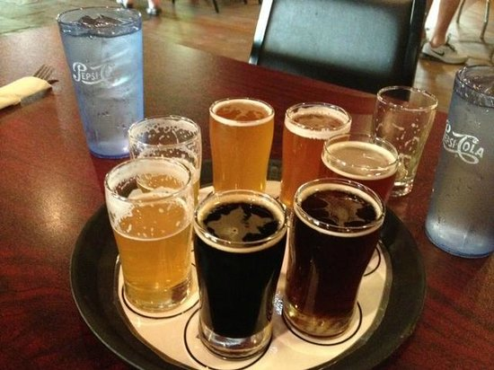 City Limits Pub: Beer Sampler