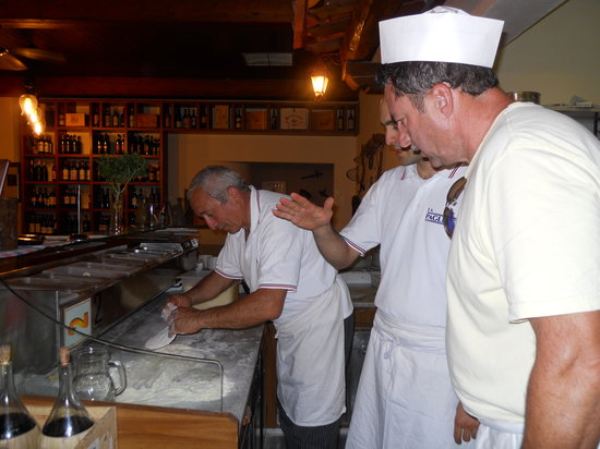 San Polo in Chianti, Italien: Learning from the best, Aldo!