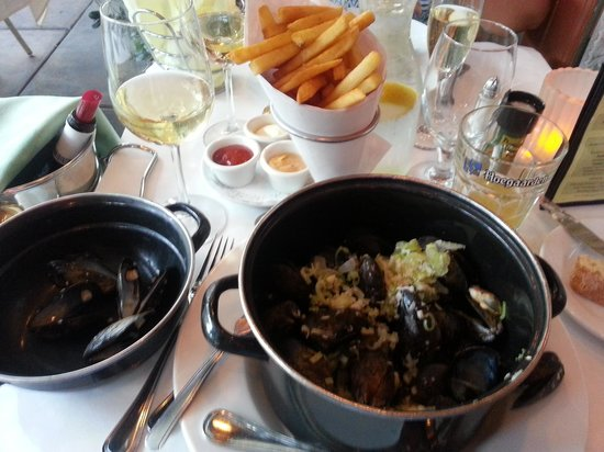 Pomme Frite: Great Belgian Mussels & Fries