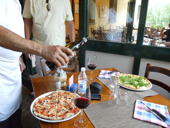 San Polo in Chianti, Italien: Here comes the payoff!