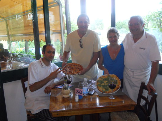 San Polo in Chianti, Italien: The great masters! Grazie Aldo e Marco!
