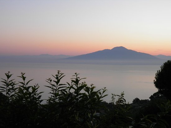 Il Nido Hotel Sorrento : View from our bancony.