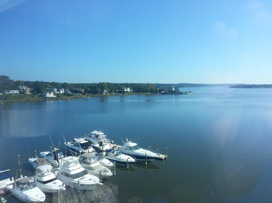 Oyster Point Hotel: Room with a view