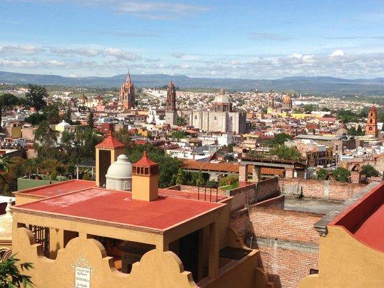 Casa de la Cuesta: Beautiful panoramic view of San Miguel