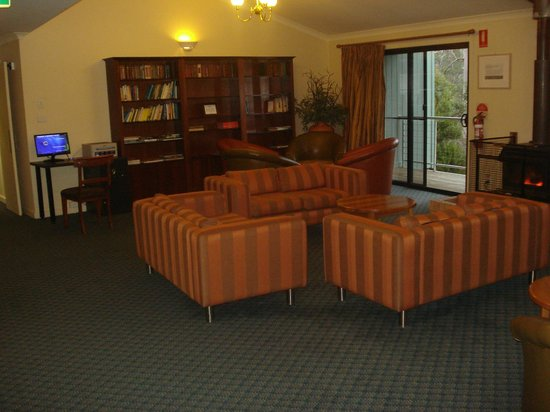 Cradle Mountain Hotel: Warm and cosy