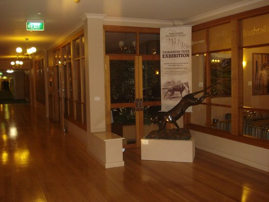 Cradle Mountain Hotel: The foyer