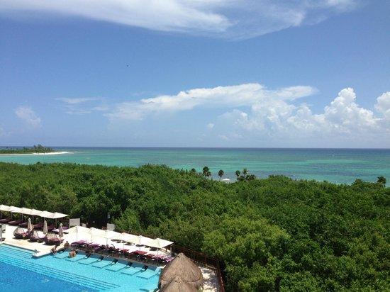 Paradisus Playa del Carmen La Perla: View from 3rd Floor