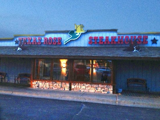 The incredible Texas Rose Steakhouse!