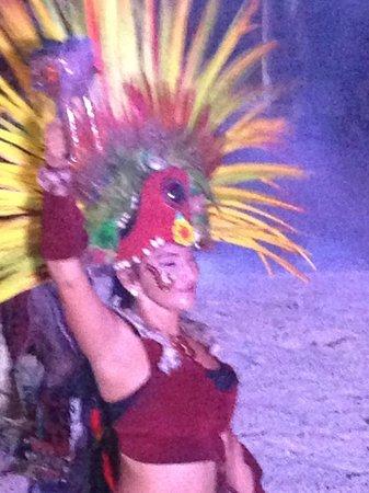 Paradisus Playa del Carmen La Perla: Mayan Show