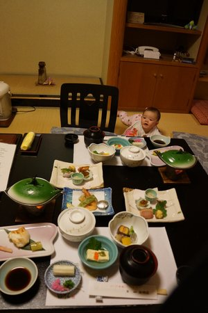 Hakone Suimeiso: The food