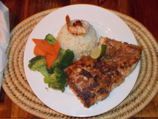Front Porch: Five Spiced Fish (grouper)