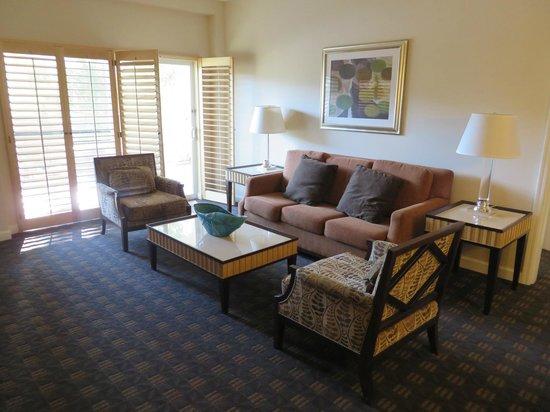 Welk Resort San Diego: Living area