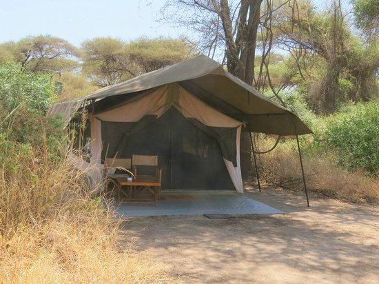 Our tent at Lemala Manyara