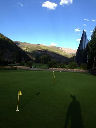 Vail Golf Club: putting green