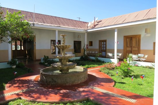 Terral Hotel & Spa: Patio Interior - Hotel