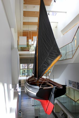 Galway City Museum: Galway Hooker