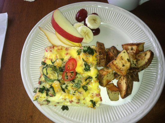 Craignair Inn at Clark Island : Breakfast plate