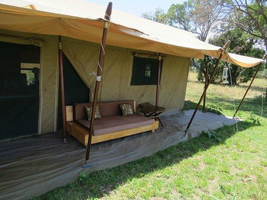 Lemala Mara Ndutu Tented Camp: Our tent