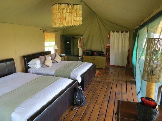 Lemala Mara Ndutu Tented Camp: Our room