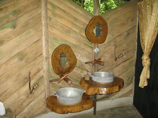 Danta Corcovado Lodge: La salle de bain