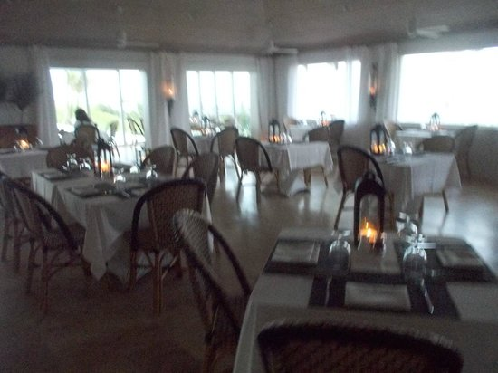 The Cove: Dinning area