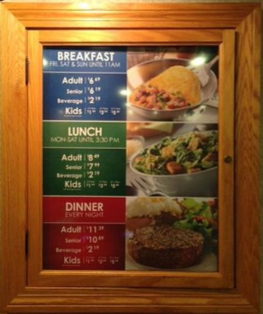 price menu at the hometown buffet davie picture of hometown rh tripadvisor com hometown buffet breakfast lunch and dinner hours hometown buffet friday dinner menu