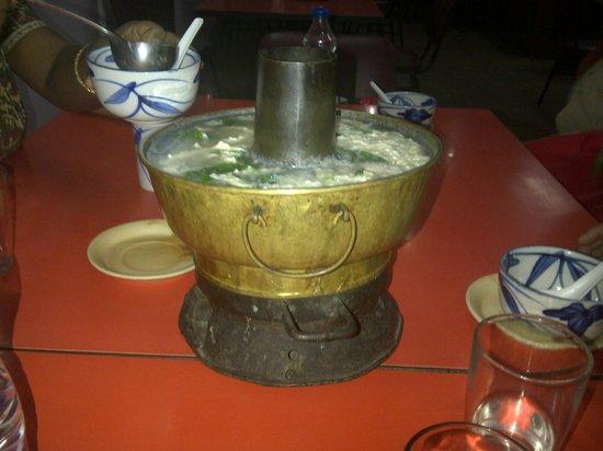 Eau Chew: Chimney Soup Serving