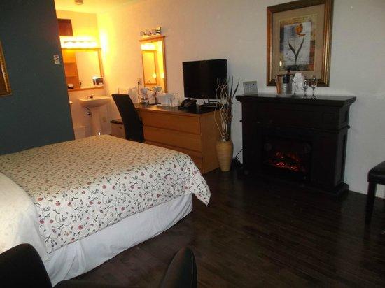 Auberge Hotel Spa Watel: notre chambre