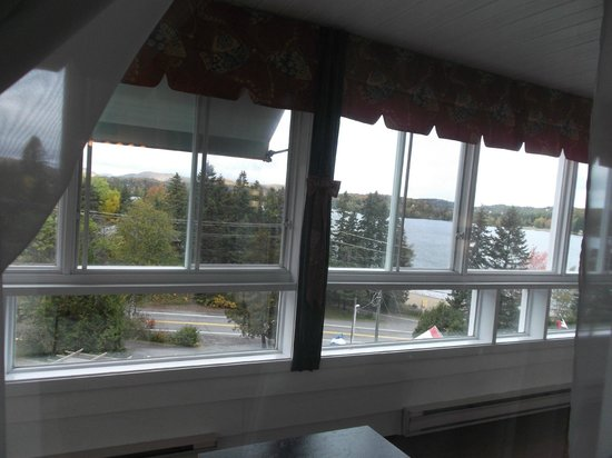 Auberge Hotel Spa Watel: vue de notre chambre corridor