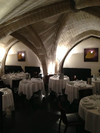 La maison de la Lozere: The dining room