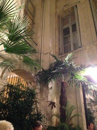 La maison de la Lozere : The Courtyard