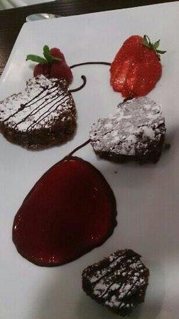 Waterside Brasserie at Middlesbrough College: desserts