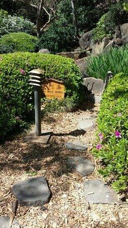 Japanese Garden: Pleasant walk