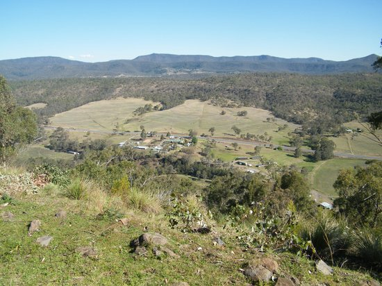 Bestbrook Mountain Resort : View from 4WD track