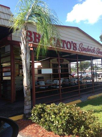 Brocato's Sandwich Shop: the bldg