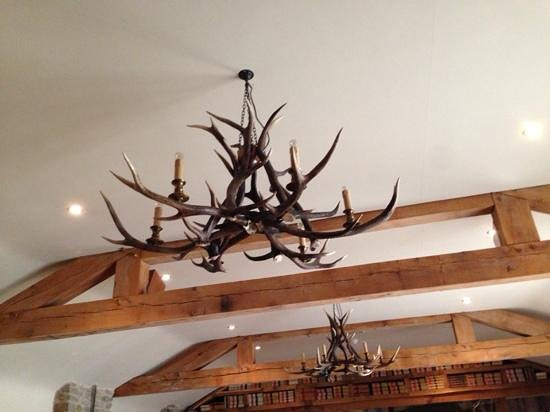 The Greenman: stag lights