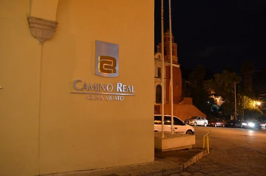 Camino Real Guanajuato: Letrero de entrada
