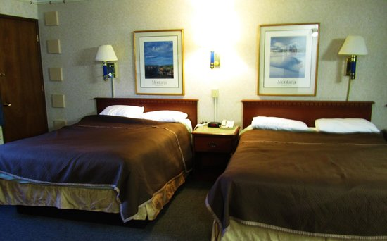 Travelodge Kalispell: two doubles