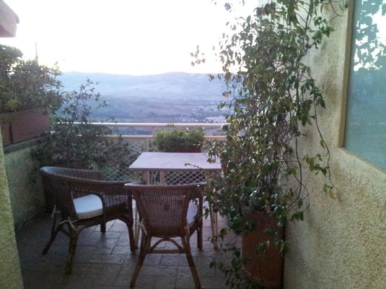 Agresta Bed and Breakfast: Vue terrase chambre 2